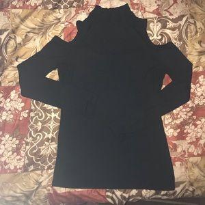 Forever 21 black mock neck long sleeve